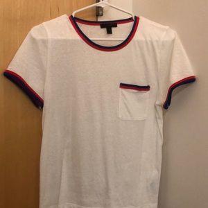 j crew ringer t-shirt